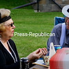 ALVIN REINER/P-R PHOTO<br /> Fashionably dressed picnickers added to the ambience of the bygone era.