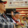 Sunday, June 9, 2013. The North Country Honor Flight escorted 18 World War II veterans through Plattsburgh as they traveled to the National World War II Memorial in Washington D.C. <br /><br />(P-R Photo/Rachel Moore)