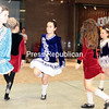 Friday, December 20, 2013. Members of Champlain Valley Irish Dance perform Christmas jigs and reels at the Champlain Centre Mall in Plattsburgh Friday afternoon. <br /><br />(P-R Photo/Gabe Dickens)