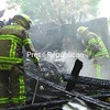 Sunday, June 28, 2009. Firefighters spent several hours knocking down a blaze at 1170 Main St. in Champlain on Sunday.<br><br>(P-R Photo/Rachel Moore)