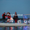 Saturday, July 12, 2014. More than a dozen boats participated in the annual Sunrise Rotary Mayor's Cup Boat Parade of Lights in Plattsburgh Bay Thursday evening. <br /><br />(P-R Photo/Gabe Dickens)