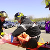 Students from the Chazy Drama Club participated in the event, and volunteers from Chazy Fire and EMS, West Chazy Fire and EMS and CVPH Medical Center took an afternoon to respond to the crash as if it were a real-life accident.