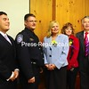 Tuesday, April 21, 2009. Paul Mongillo was sworn in as the new Port Director at the Champlain port of  entry .<br><br>(Staff Photo/Michael Betts)