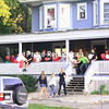 Thursday, September 10, 2009. Community members and Plattsburgh State students mingle at get-togethers organized by the Campus/City partnership.<br><br>(P-R Photo/Melissa Hart)