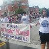 Friday, July 5, 2013. Hundreds lined the streets in the City of Plattsburgh for the annual fourth of July parade despite the downpour. <br /><br />(Staff Photo/Kelli Catana)