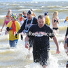 Saturday, November 12, 2011. Annual Polar Plunge at the Plattsburgh City Beach Saturday. The plunge, which lasted less than two minutes, raised funds for Special Olympics. <br><br>(P-R Photo/Rob Fountain)