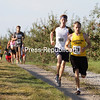 Sunday, August 29, 2010. 20th Annual Run for Jon Saturday held at Forrence Orchards on the Mannix Road. Peru's Sara Facteau broke the course record on the women's side, while Rouses Point's Aaron Robertson was the top male and overall finisher.<br><br>(P-R Photo/Gabe Dickens)