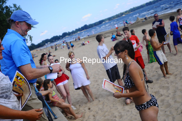 Thursday, August 18, 2011. The 27th Press-Republican Sand Sculpture Competition at the Plattsburgh City Beach. This year featured nearly 30 groups or individuales.<br><br>(Staff Photo/Kelli Catana)