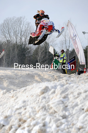 Monday, January 20, 2014. East Coast Snocross races at Airborne Speedway in Plattsburgh Saturday, January 18, 2014. (P-R Photo/Rob Fountain)