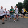 Thursday, June 6, 2013. Special Olympians and local law enforcement agencies participated in the annual North Country Law Enforcement Torch Run.  The torch started Thursday Morning at the Chazy State Police Station and made it's way to city hall by noon, on Friday June 7th the flame of hope torch will be picked up at Riverside Park in Saranac Lake by the Essex County Law Enforcement Torch Run and will travel another 10 miles to the Olympic Oval.  This year the run is expected to raise about $2,500 to send area Special Olympians to Buffalo on June 14 for the State Summer Games.   <br /><br />(Staff Photo/Kelli Catana)