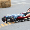 Monday, September 29, 2014. Children from Plattsburgh and the surrounding communities tested thier skills during the USA Luge's Slider Search which took place on Bridge Street in Plattsburgh recently. <br /><br />(P-R Photo/Gabe Dickens)