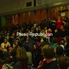 Thursday, March 26, 2009. Ares students expierence wild animals up close at Oak Street school in Plattsburgh.  Understanding Wildlife Inc. brought several wild animals to the school.<br><br>(Staff Photo/Kelli Catana)