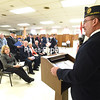 November 11, 2015 - Veterans Day celebrations at American Legion Post 20 and Clinton Community College. (ROB FOUNTAIN/STAFF PHOTO)