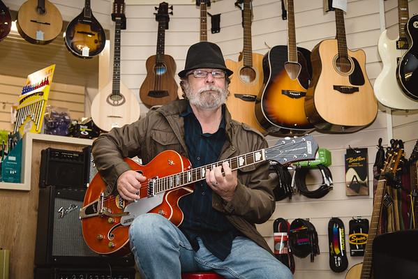 Erroll Walsh vists the new music school at Midland Sound