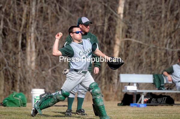 Tuesday, April 12, 2011. Chazy High School vs. Schroon Lake High School in Chazy.  Chazy won 4-3.<br><br>(P-R Photo/Andrew Wyatt)