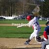 Monday, May 9, 2011. AuSable Valley Central High School vs. Plattsburgh High School in Plattsburgh.  PHS won 16-4.<br><br>(P-R Photo/Rob Mason)