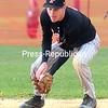 ROB FOUNTAIN/STAFF PHOTO   5-17-2016<br /> Plattsburgh High plays Beekmantown Centrel in a CVAC Boys baseball game Monday in Beekmantown.