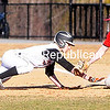 ROB FOUNTAIN/STAFF PHOTO 4-14-2016<br /> Plattsburgh High plays Beekmantown Wednesday in boys baseball at Chip Cummings Field in Plattsburgh.