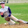 Tuesday, May 6, 2014. Beekmantown plays Ticonderoga in CVAC boys baseball Monday in Beekmantown. <br /><br />(P-R Photo/Rob Fountain)