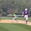 Monday, May 31, 2010. Ticonderoga High School vs. Northern Adirondack  Central High School in Plattsburgh. Ti won 5-0.<br><br>(P-R Photo/Gabe Dickens)