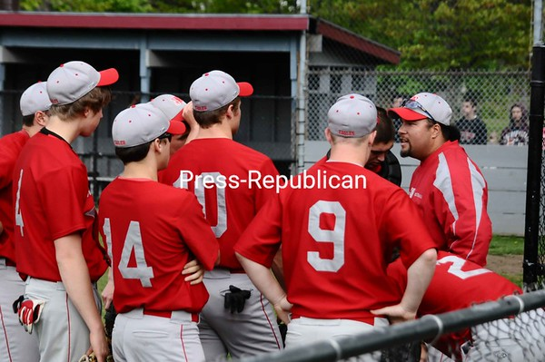 Friday, May 14, 2010. Plattsburgh High School fs. Beekmantown Central High School in Plattsburgh.  PHS won 8-3.<br><br>(P-R Photo/Andrew Wyatt)