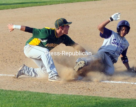 Tuesday, May 31, 2011. Ticonderoga High School vs. Northern Adirondack Central High School in Plattsburgh.  Ticonderoga won 11-5.<br><br>(P-R Photo/Andrew Wyatt)