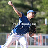 Wednesday, May 21, 2014. The Peru Indians defeated the Ausable Valley Patriots 15-0 in their final Champlain Valley Athletic Conference baseball game of the season Tuesday afternoon at Ausable Forks Elementary School. <br /><br />(P-R Photo/Gabe Dickens)