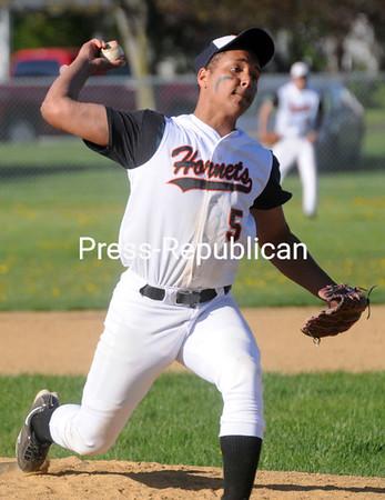 Thursday, May 12, 2011. Plattsburghg High School vs. Saranac Central High School in Plattsburgh.<br><br>(P-R Photo/Andrew Wyatt)