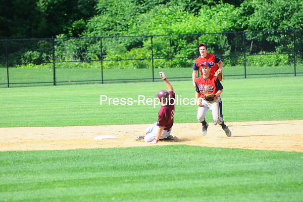 Monday, June 7, 2010. Chateaugay vs. Moriah in Section VII, Class D baseball.  Chateaugay won 8-7.<br><br>(Staff Photo/Kelli Catana)