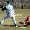 Tuesday, April 12, 2011. Chazy High School vs. Schroon Lake High School in Chazy.  Chazy won 4-3.<br><br>(P-R Photo/Andrew Wyatt)