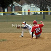 Tuesday, April 16, 2013. Errors were the name of the game in Monday's CVAC opener between Plattsburgh and Beekmantown. <br /><br />(Staff Photo/Kelli Catana)