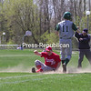 Saturday, April 24, 2010. Willsboro vs. Chazy.  Willsboro won 13-1.<br><br>(P-R Photo/Gabe Dickens)