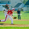 Monday, May 30, 2011. Plattsburgh High School vs. Saranac Central High School in Plattsburgh.   PHS won 18-6.<br><br>(Staff Photo/Ryan Hayner)