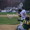 Monday, April 25, 2011. Plattsburgh High School vs. Northern Adirondack High School in Plattsburgh.  PHS won 11-2.<br><br>(P-R Photo/Rob Mason)