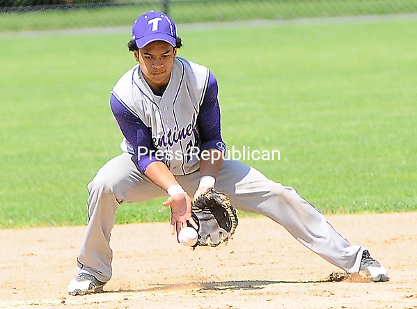 Thursday, May 31, 2012. The Ticonderoga baseball team won its eight straight Section VII Class C title with an 11-0 win over Moriah. <br /><br />(P-R Photo/Rob Fountain)
