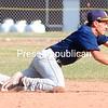 ROB FOUNTAIN/STAFF PHOTO 4-22-2016<br /> Lake Placid plays Saranac in boys baseball Thursday in Saranac.