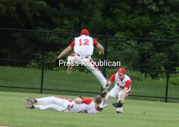Wednesday, June 2, 2010. Beekmantown Central High School vs. Saranac Central High School in Plattsburgh.  Beekmantown won 11-5.<br><br>(P-R Photo/Andrew Wyatt)