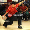 Monday, December 1, 2014. Saranac plays Northern Eastern in boys bowling Monday at North Bowl Lanes in Plattsburgh.  <br /><br />(P-R Photo/Rob Fountain)