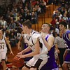 Friday, March 13, 2009. Northeastern Clinton Central High School vs. Ogdensburg Free Academy in Plattsburgh.  OFA won 69-38.<br><br>(Staff Photo/Michael Betts)