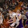 Friday, March 13, 2009. Northeastern Clinton Central High School vs. Ogdensburg Free Academy in Plattsburgh.  OFA won 69-38.<br><br>(Staff Photo/Michael Betts)