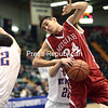 Friday, March 14, 2014. The Moriah Vikings faced off against the New York Mills Marauders in the NYSPHSAA Class D semifinal boys' basketball match at the Glens Falls Civic Center Friday afternoon. <br /><br />(P-R Photo/Gabe Dickens)