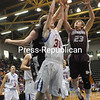 Friday, March 18, 2011. Class D Semi-Finals Playoff game in Glens Falls.  Chateauguay High School vs. NY Mills High Schol.  NY Mills won 59-55.<br><br>(P-R Photo/Andrew Wyatt)