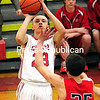 Thursday, February 26, 2015. Saranac plays Saranac Lake Wednesday in boys basketball in Saranac. <br /><br />(Rob Fountain/Staff Photo)