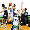 Seton Catholic plays Chazy in boys basketball Tuesday, January 19, 2016 in Plattsburgh. (ROB FOUNTAIN/STAFF PHOTO)