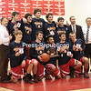 Sunday, March 3, 2013. The Beekmantown Eagles captured their first Section VII Class B title since 1996-97 as they held off the Peru Indians, 59-54, Saturday at the Plattsburgh State Field House. <br /><br />(P-R Photo/Gabe Dickens)