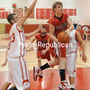 Tuesday, March 1, 2011. Moriah High School vs. Willsboro High School in Plattsburgh. Moriah won 58-44.(P-R Photo/Andrew Wyatt)
