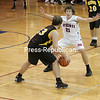Saturday, December 18, 2010. AuSable Valley Central High School vs. Hardwood High School in Clintonville.  AVCS won 51-42.<br><br>(P-R Photo/Gabe Dickens)
