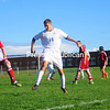 Monday, September 24, 2012. Northeastern Clinton defeated Plattsburgh, 4-1, in Northern Soccer League boys' soccer Monday. <br /><br />(Staff Photo/Kelli Catana)