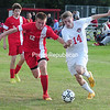 Monday, September 22, 2014. Saranac plays Beekmantown Monday in CVAC Boys Soccer match in Beekmantown. <br /><br />(P-R Photo/Rob Fountain)