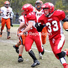 Monday, October 13, 2014. The Saranac High School Chiefs made a fourth-quarter rally to defeat the Plattsburgh High School Hornets 20-12 and claim victory in the inaugural Saranac River Bowl held at Saranac Saturday, October 11, 2014.  <br /><br />(Ben Rowe/P-R Photo)